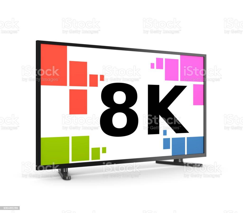 8K-TV-Gerät – Foto