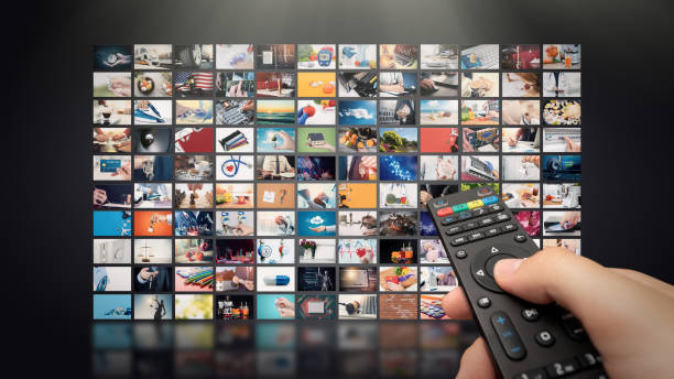 Television streaming video. Media TV on demand – zdjęcie