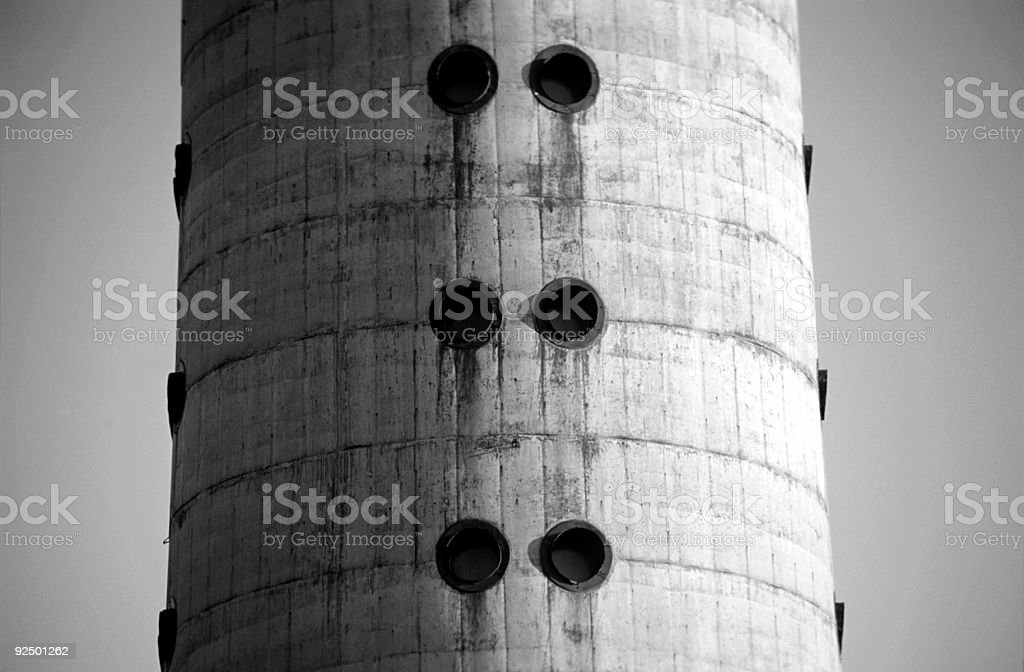 television tower detail royalty-free stock photo