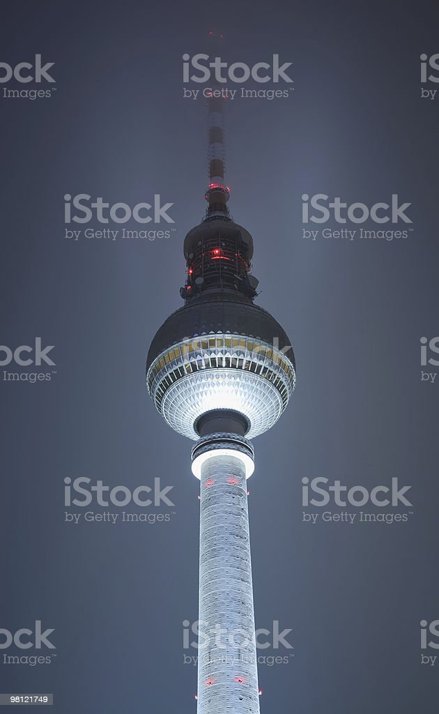 Television Tower in Berlin royalty-free stock photo