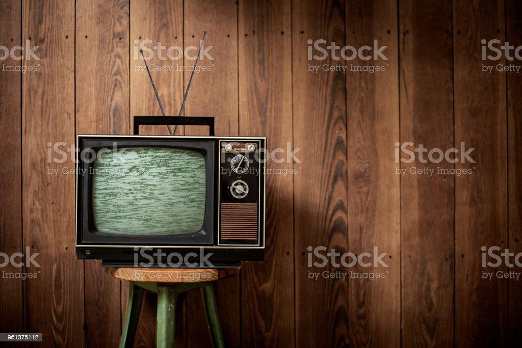 Television - Vintage stock photo
