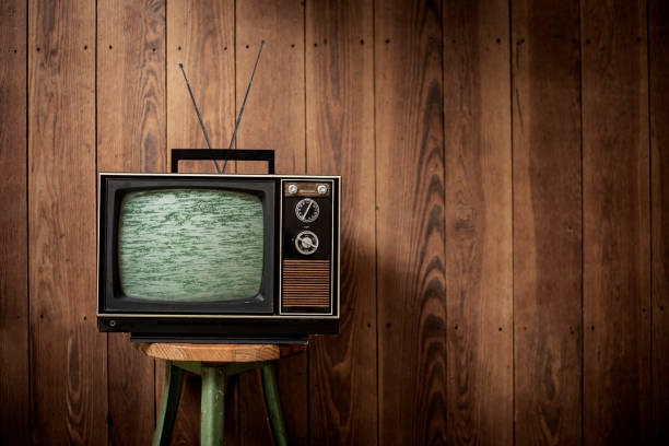 television - vintage - television stock photos and pictures