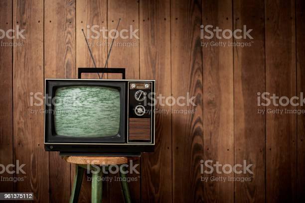 Fernsehen Vintage Stockfoto und mehr Bilder von 1960-1969