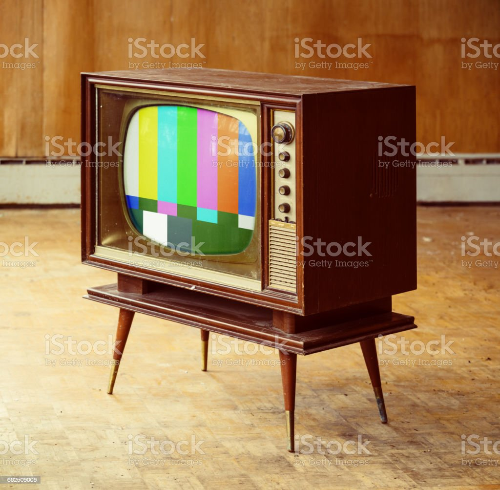 Televsion Vision stock photo