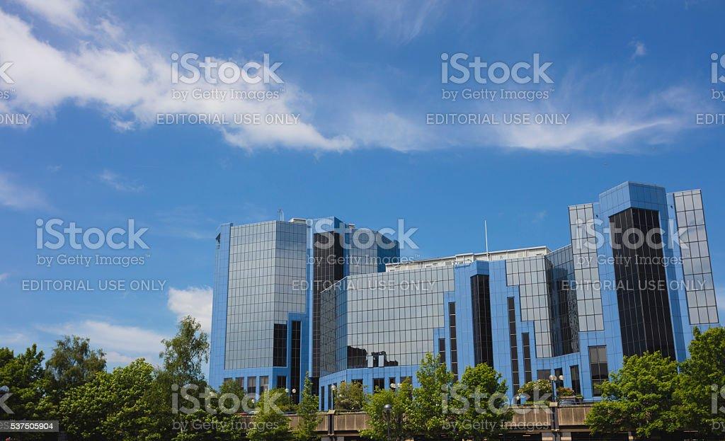Telford Plaza stock photo