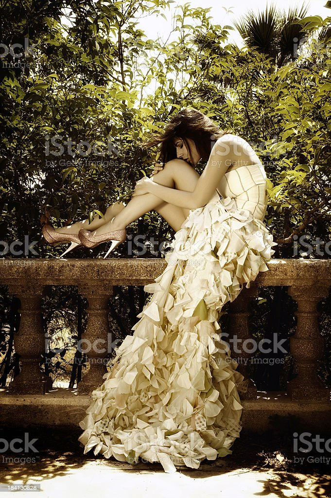 Tell me a fairytale royalty-free stock photo