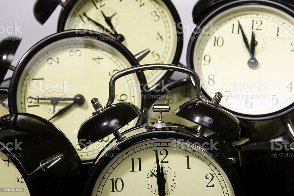Telling time royalty-free stock photo
