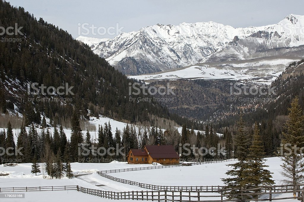 Telluride royalty-free stock photo