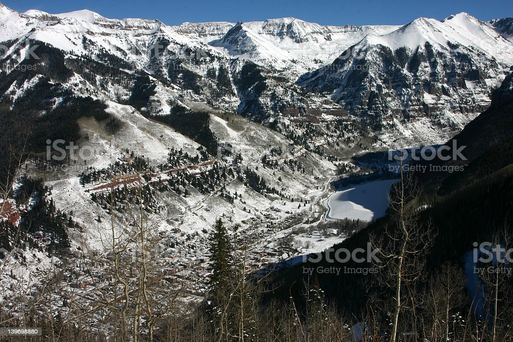 Telluride Top royalty-free stock photo