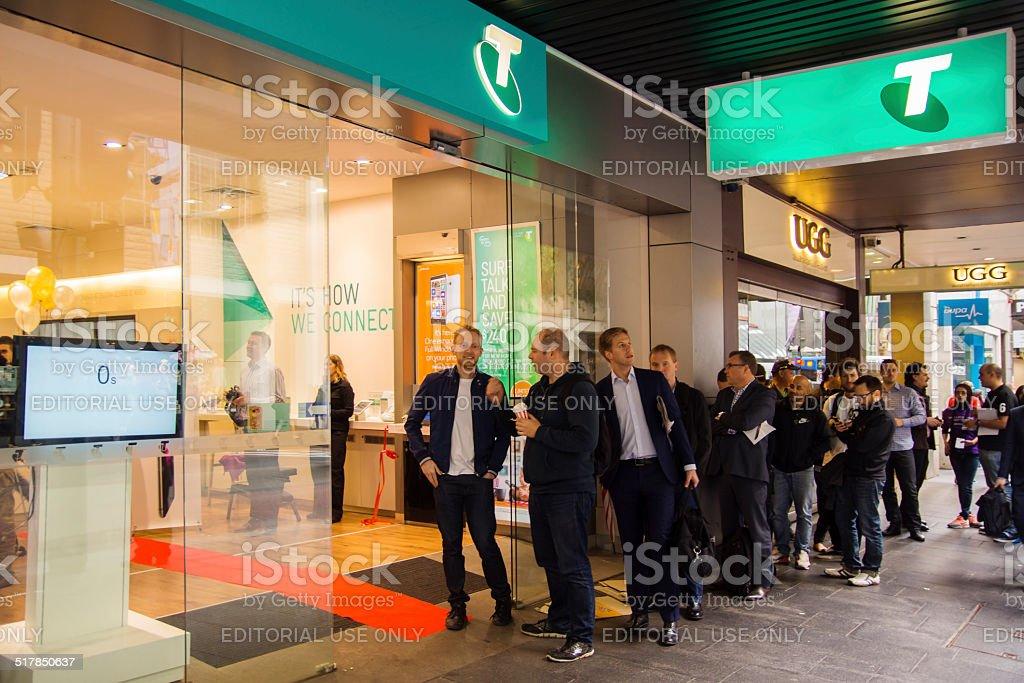 Telstra Store stock photo
