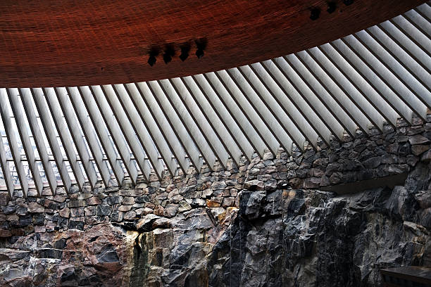 Temmpeliaukio Kirche, Helsinki, Finnland – Foto