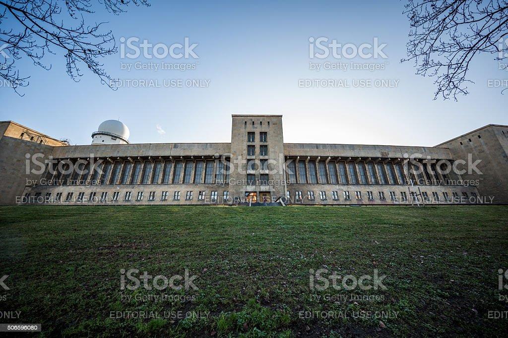 Tempelhof Airport, Berlin, Germany stock photo