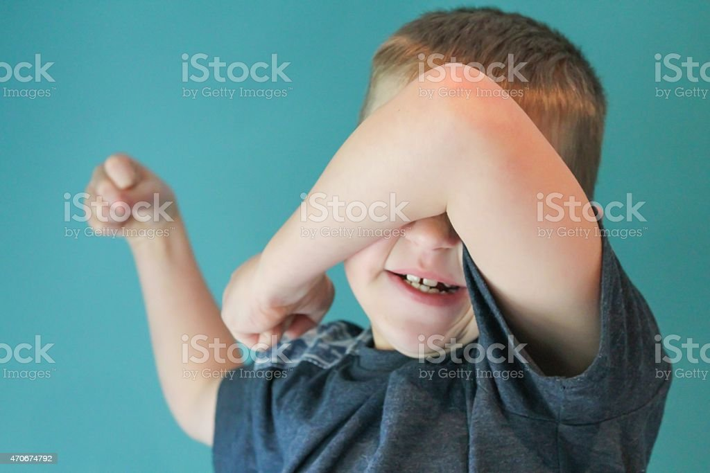 Temper Tantrum stock photo