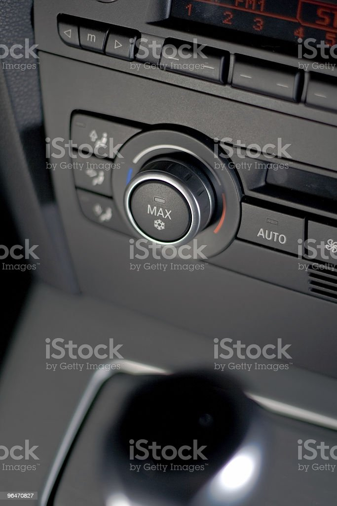 Temperature Controls royalty-free stock photo