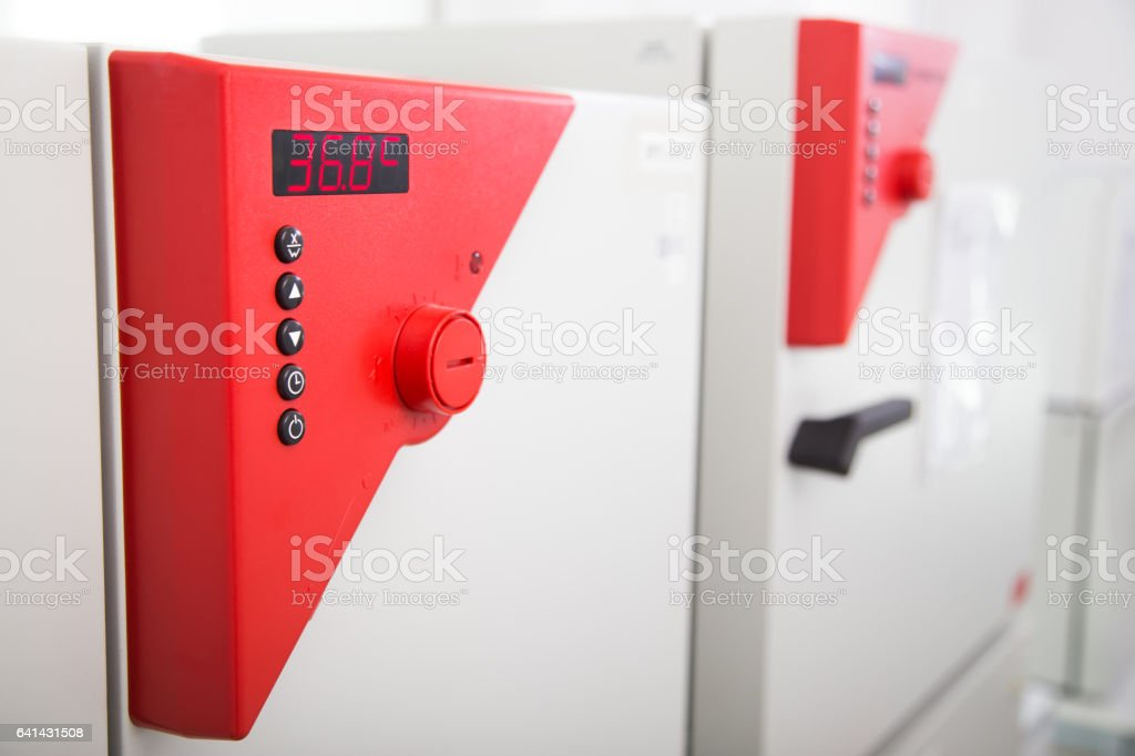 Temperature Test Chamber stock photo