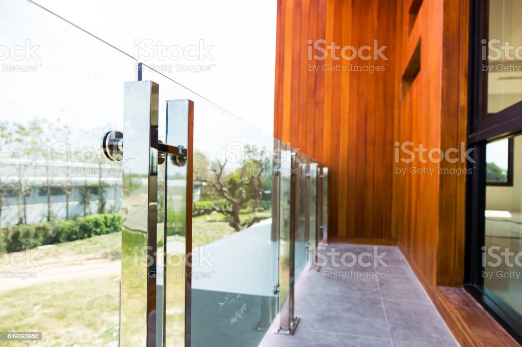 tempered glass stock photo
