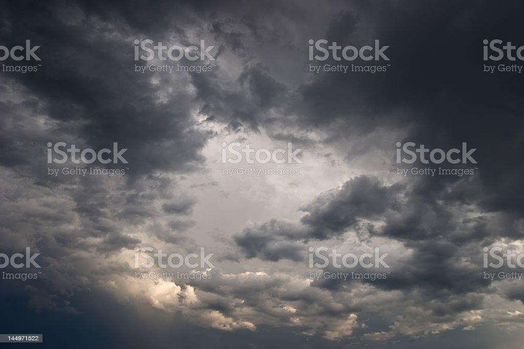 Tempestuous Skies stock photo