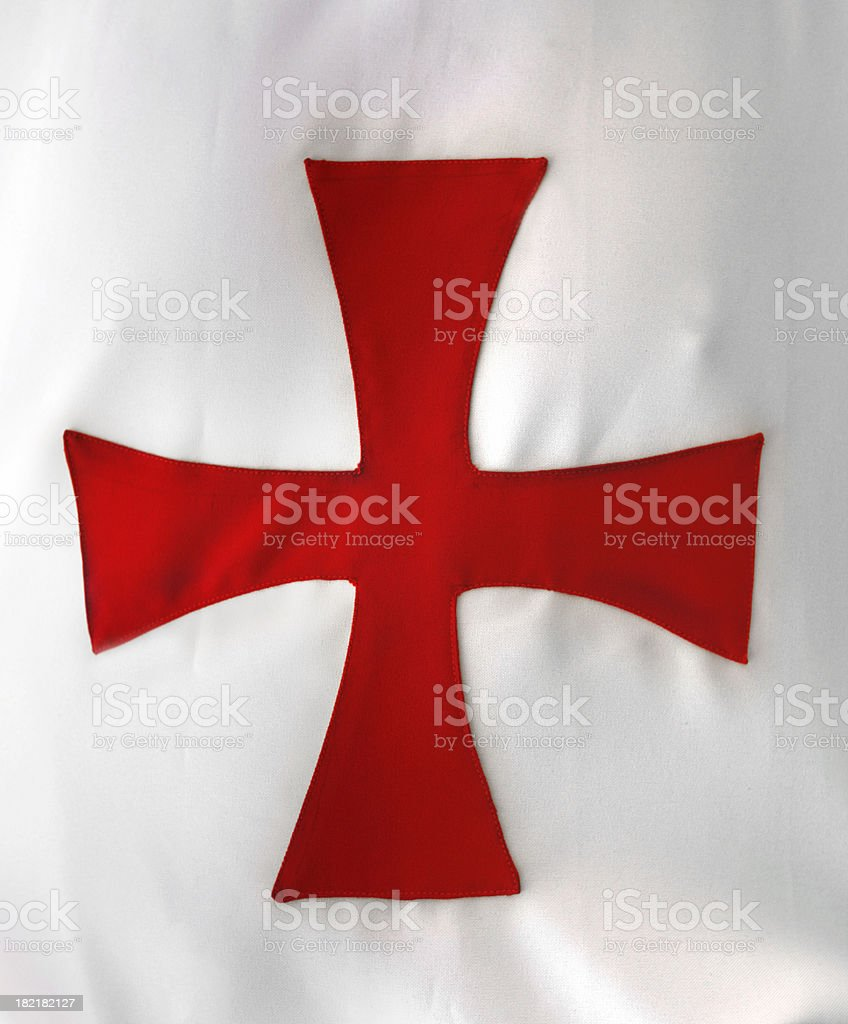 Templar / Maltese cross stock photo