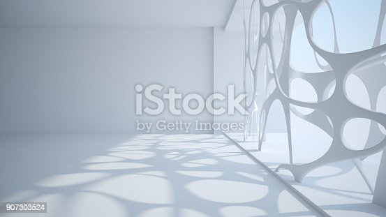 927247724 istock photo Template abstract empty architectural space 907303524
