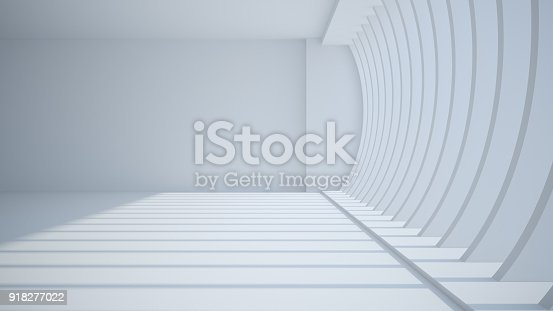 istock Template abstract empty architectural space 918277022