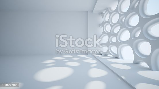istock Template abstract empty architectural space 918277026