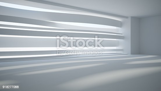 istock Template abstract empty architectural space 918277088