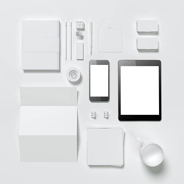 Vorlage für das branding business – Foto