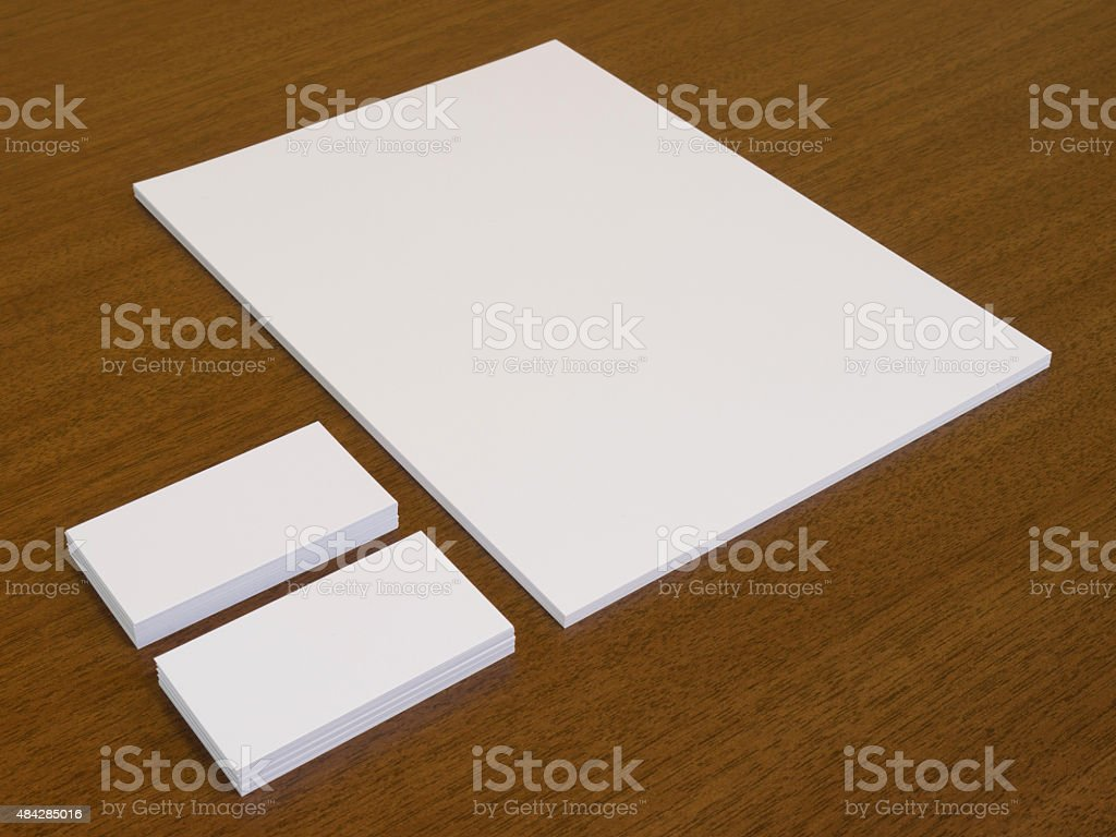 Template For Branding Presentation Stock Photo - Download