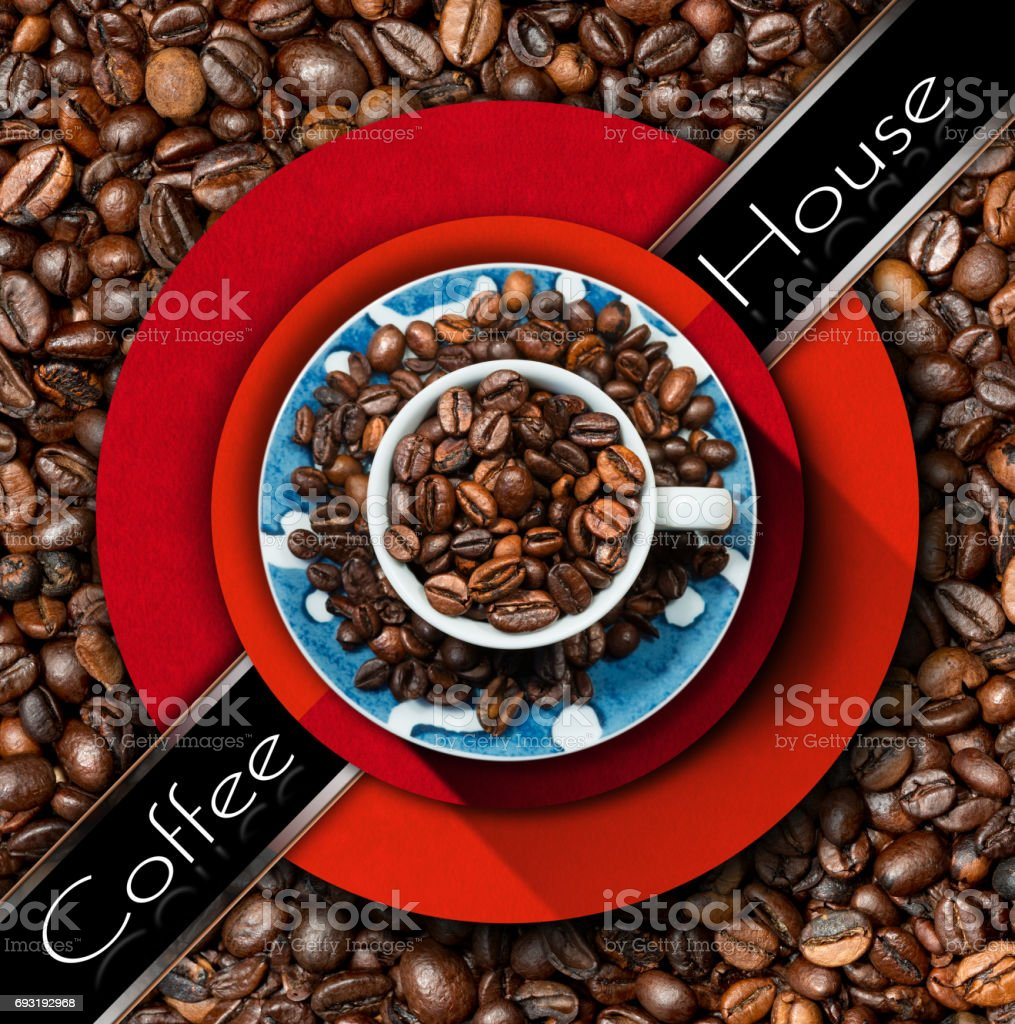 Template For Coffee House Menu Stock Photo Download Image