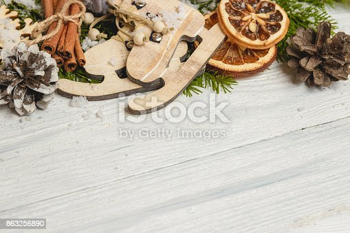 859002854 istock photo Template for New Year space for text. Mockup for advertising, congratulations 863256890