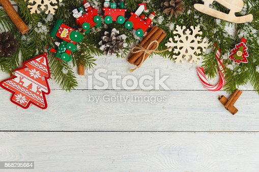 859002854 istock photo Template for New Year space for text. Mockup for advertising, congratulations 868295664