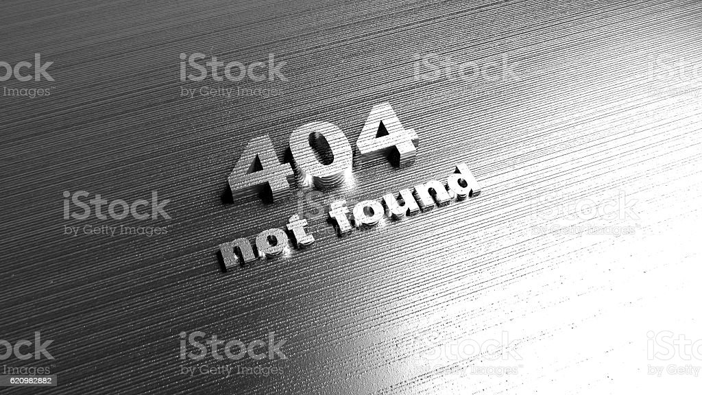Template for website - Error 404 Page not found message foto royalty-free