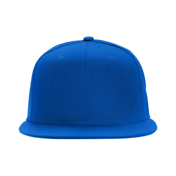 template for your design blank blue baseball cap isolated on white background with clipping path template for your design blank blue baseball cap isolated on white background with clipping path. baseball cap stock pictures, royalty-free photos & images
