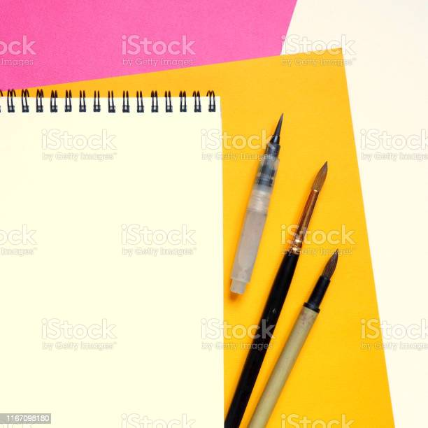 Template with blank notebook and drawing tools on white yellow and picture id1167098180?b=1&k=6&m=1167098180&s=612x612&h=79tlfny3bnwlom01s4l7ohkhcybosr ko6zmnb2xcnw=