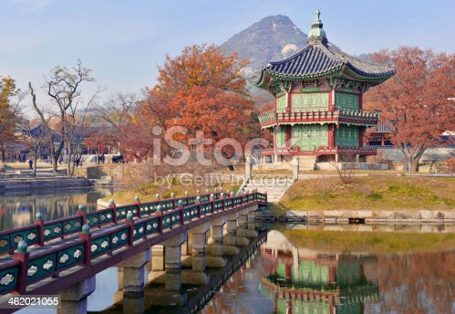 Temple And Palace Traditional Architecture Seoul South Korea Stock Photo More Pictures Of