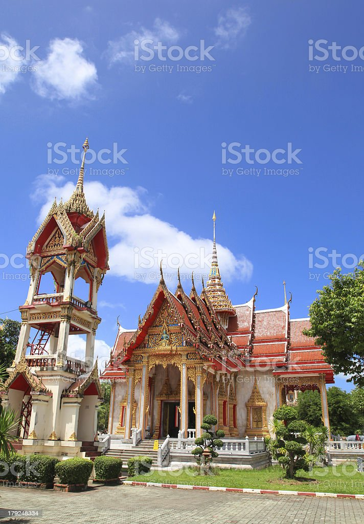 Temple Asian at Thailand 16 royalty-free stock photo
