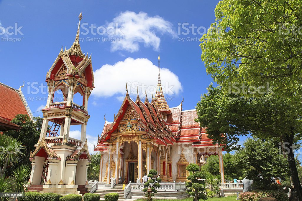 Temple Asian at Thailand 17 royalty-free stock photo