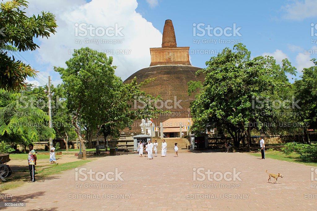Temple de d'Anuradhapura - Photo