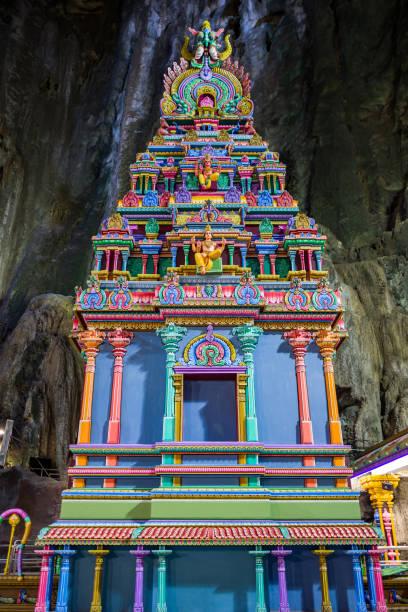 Temple at Batu Caves in Kuala Lumpur stock photo