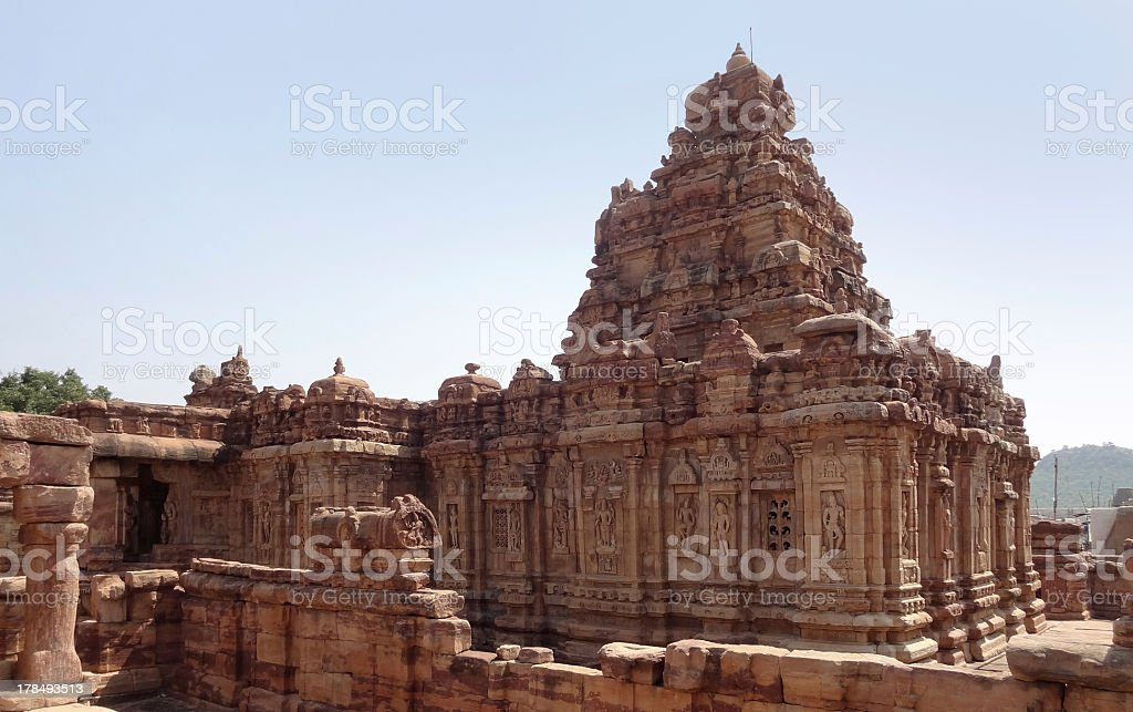 temple at Pattadakal royalty-free stock photo