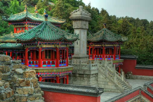 THe emperors temple at the summer palace in Beijing.You can see other images of the great wall, Tiennaman, Forbidden City, and the Summer Palace here: