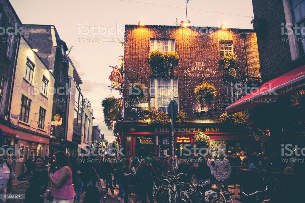Temple Bar - Dublin, Ireland - 2016  (12 Images) stock photo