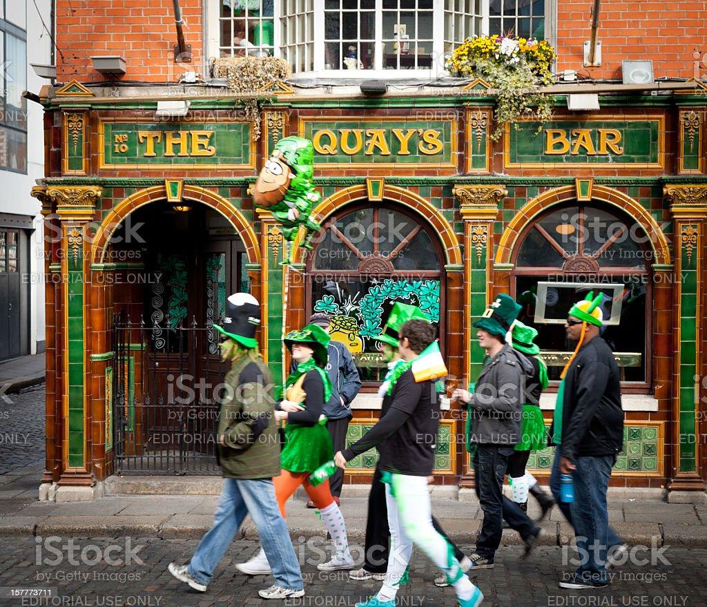 Temple Bar Dublin stock photo