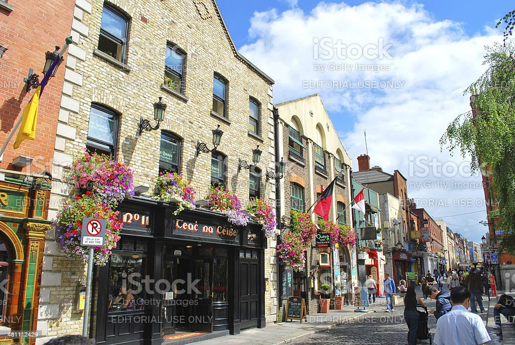 Temple bar during the day stock photo