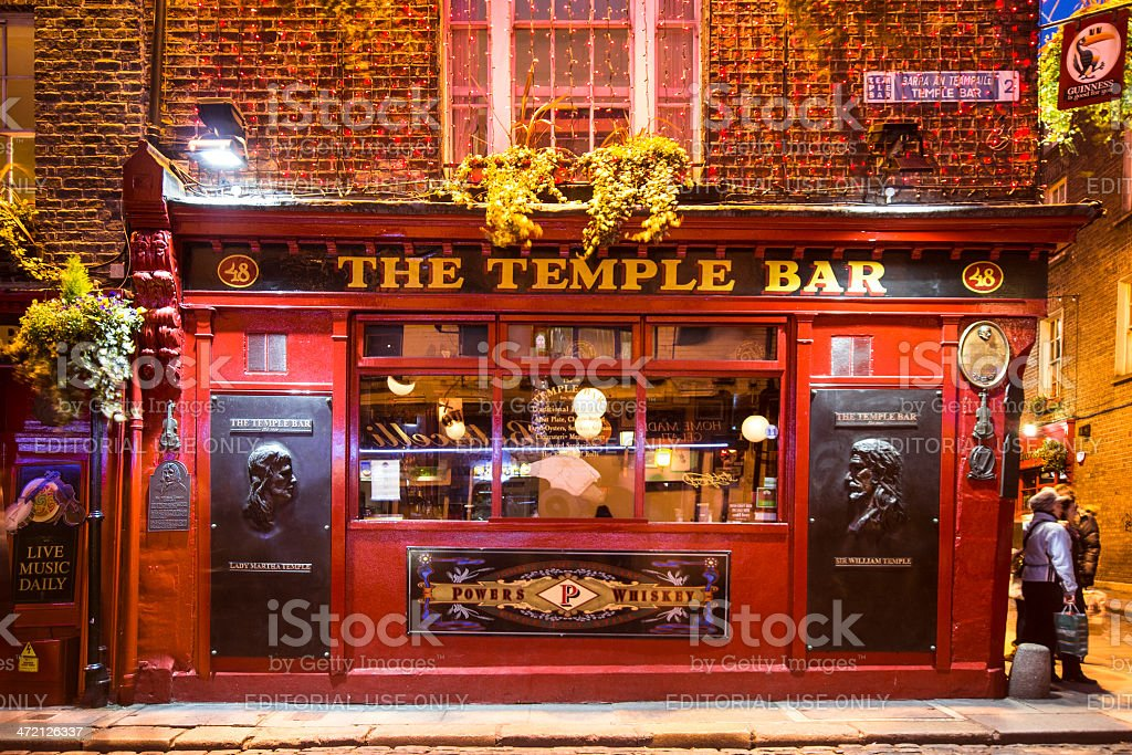 Temple Bar stock photo