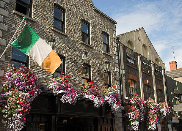 Temple bar pub Dublin stock photo