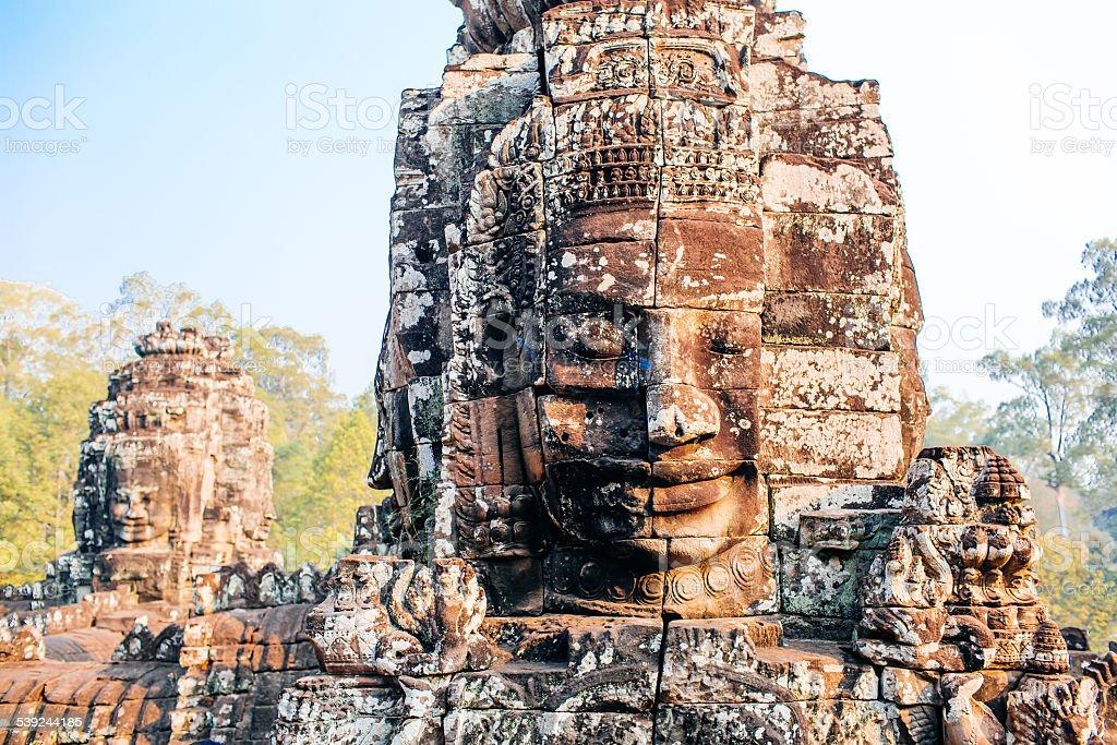 Templo de Bayon foto royalty-free