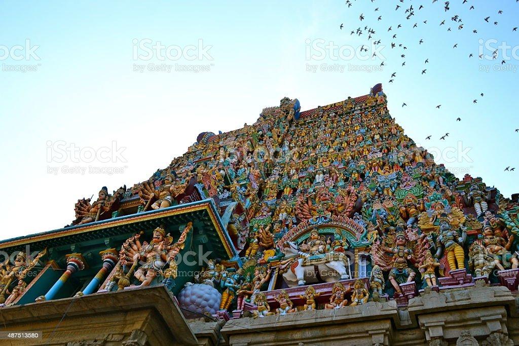 Temple Beauty stock photo