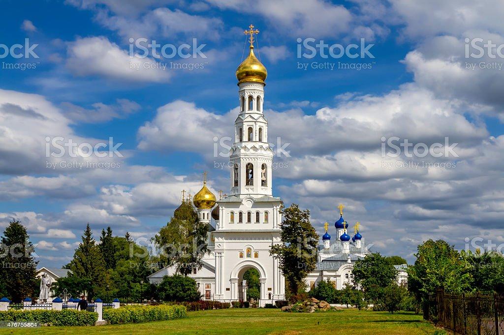 Храмовый комплекс в деревне Завидово стоковое фото