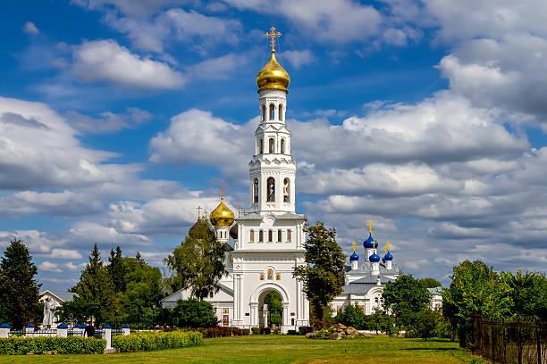 Cтоковое фото Храмовый комплекс в деревне Завидово